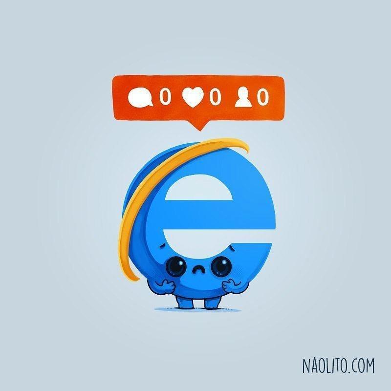 Internet Explorer, картинки, прикольные картинки, юмор