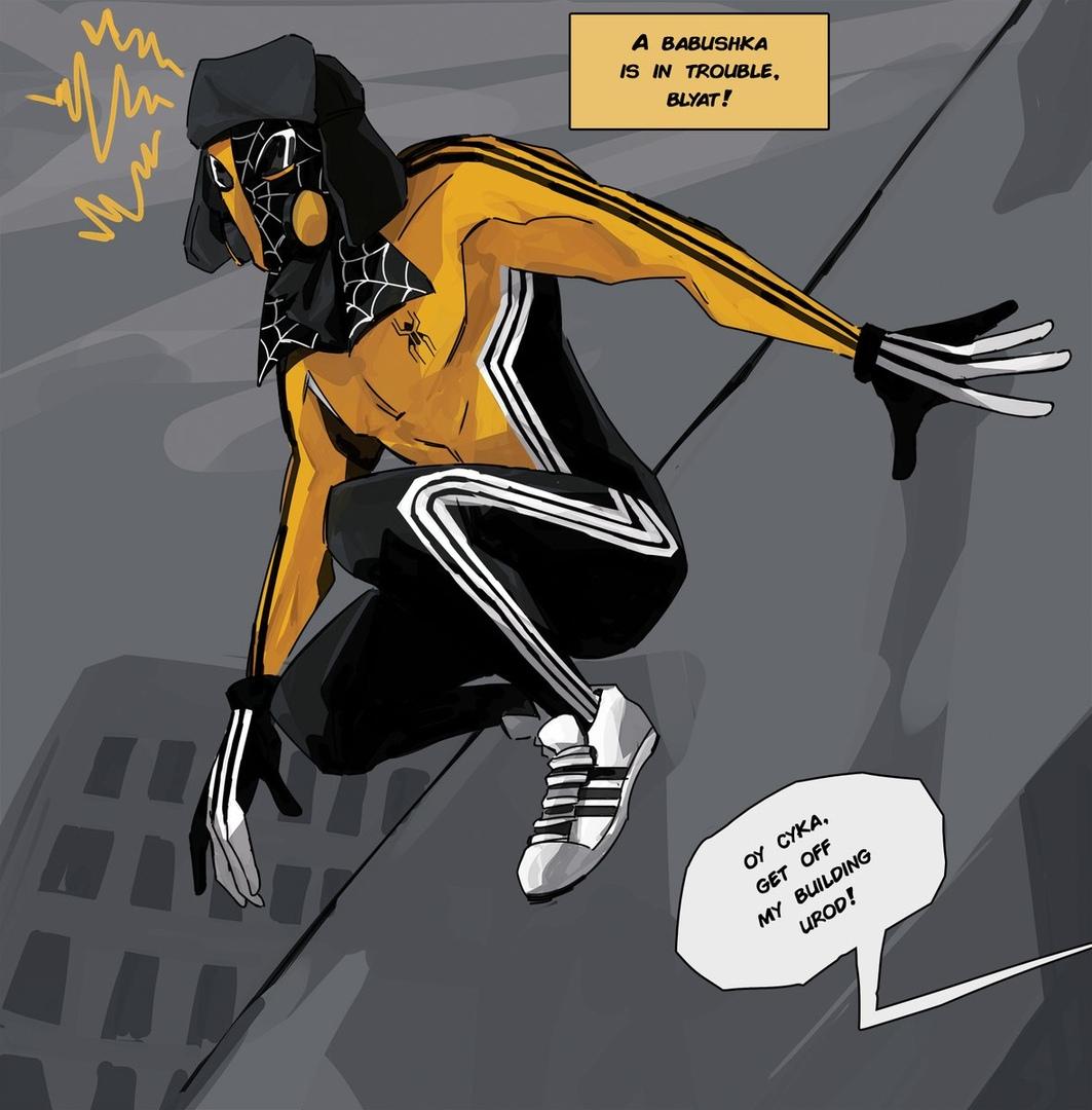 комиксы, Человек-паук, клюква, Spider-man