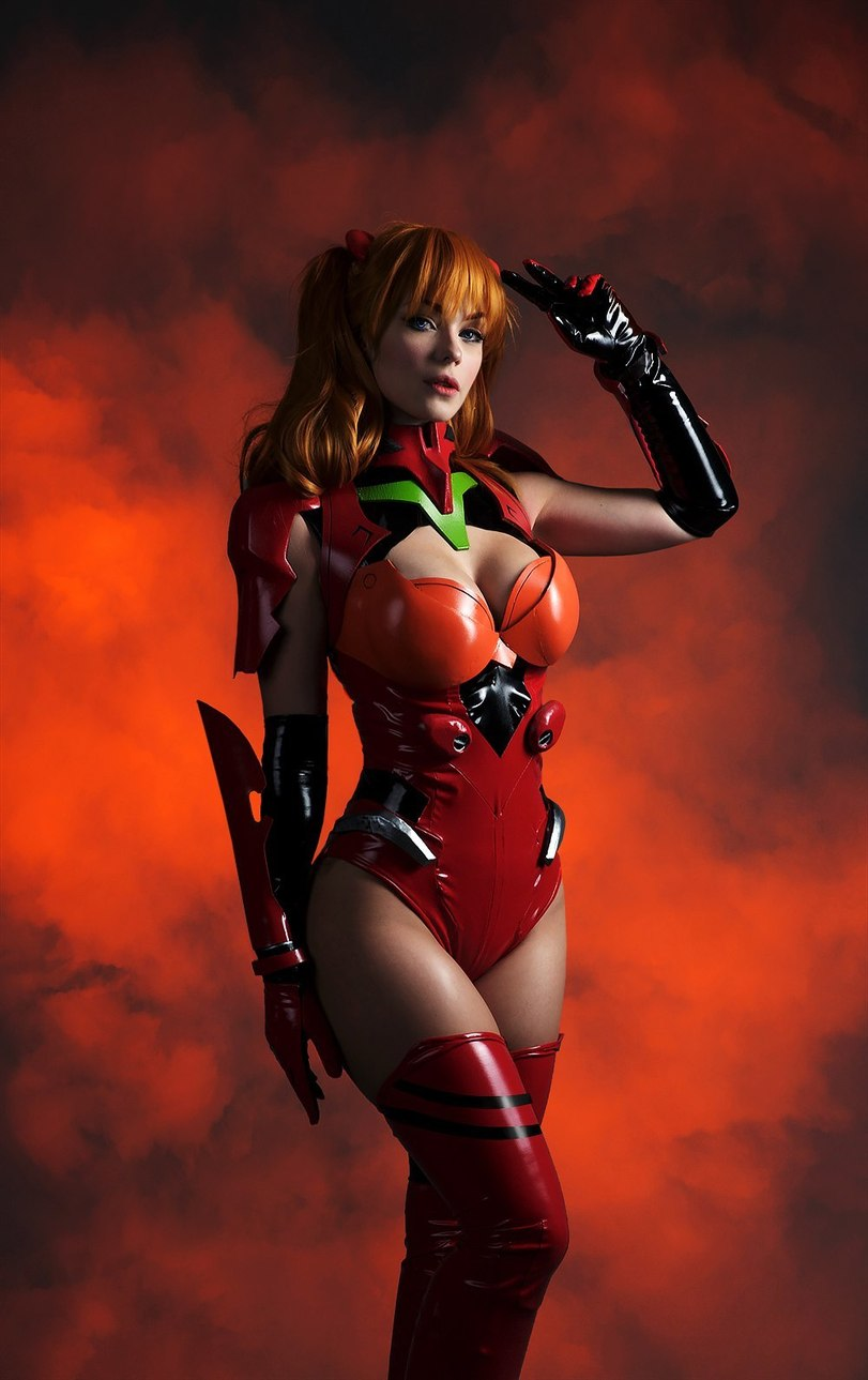 косплей, Evangelion, Anime Cosplay, Asuka Langley
