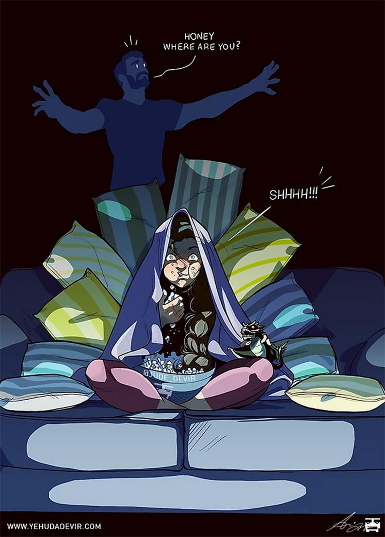 One of those days, Yehuda Adi Devir, комиксы