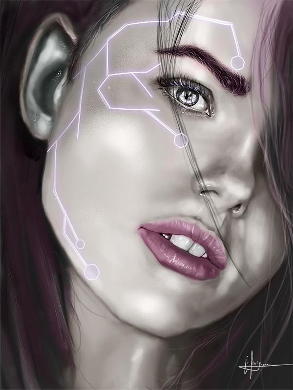 Sci-Fi, девушка, арт, картинки, красивые картинки, Efrain Sosa