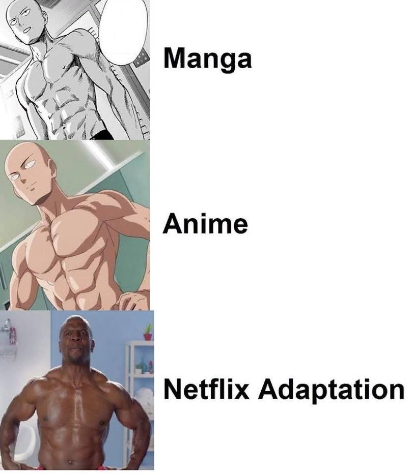 Onepunch-Man, Netflix, юмор, разное, anime
