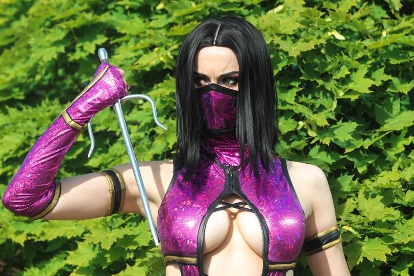 Милина, Mortal Kombat 9, Mortal Kombat, косплей, cosplay, фото, девушка
