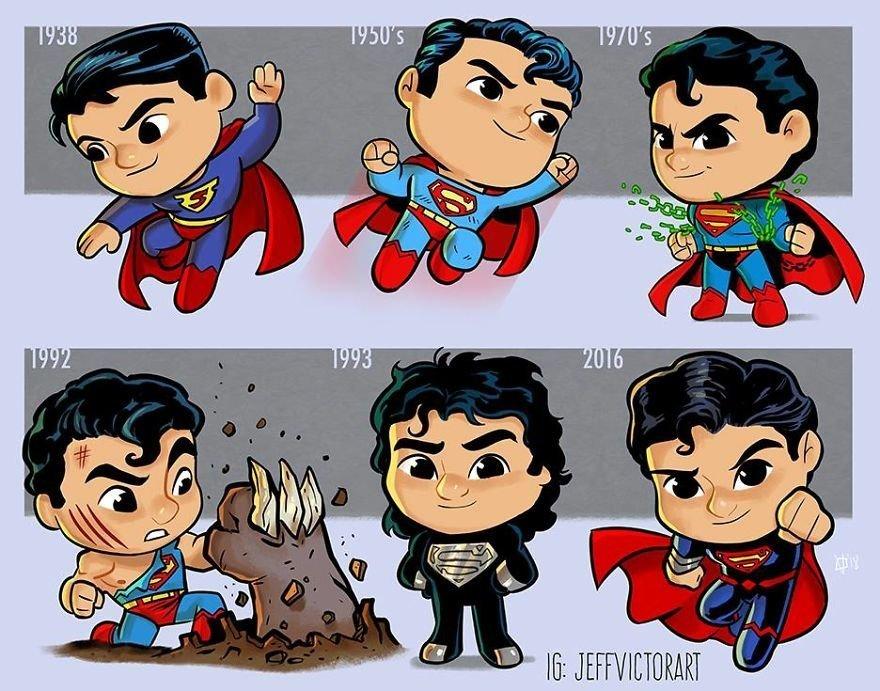 Супермен, Джефф Виктор, Jeff Victor, арт, art, картинки