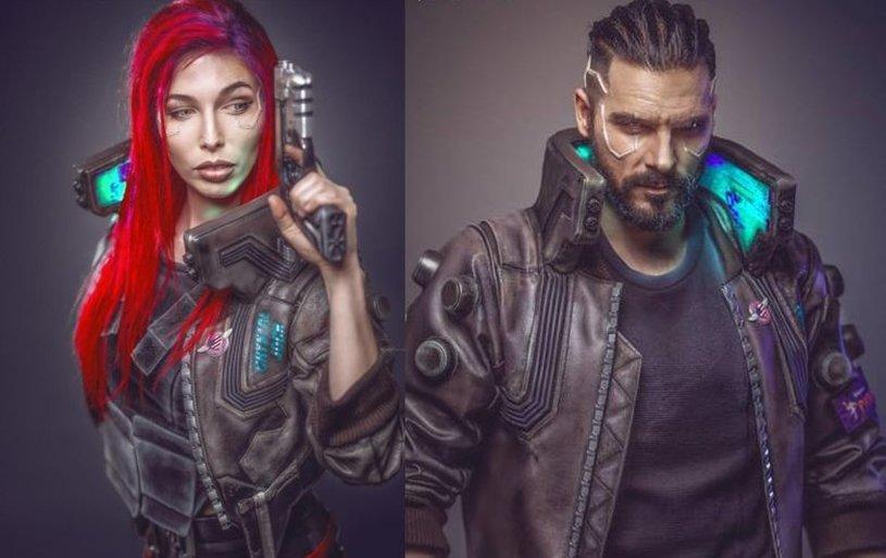 Cyberpunk 2077, cosplay, косплей, игры, CD Projekt RED, Бэн Шамма, eosAndy, фото