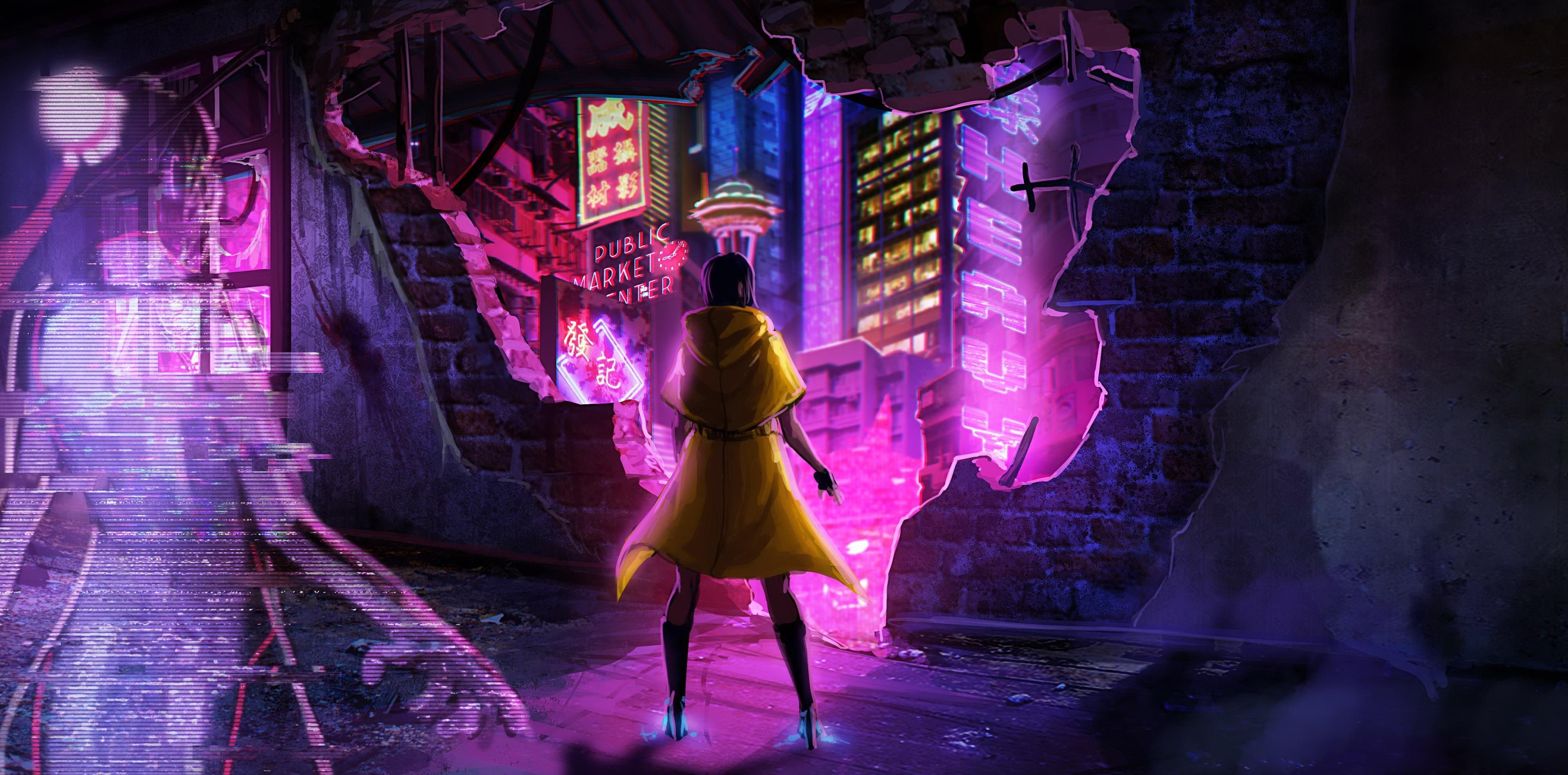 Sense: A Cyberpunk Ghost Story, игры, киберпанк, арт, art