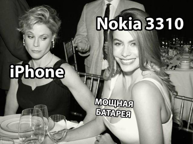 iPhone, Nokia, Nokia 3310, картинки, юмор