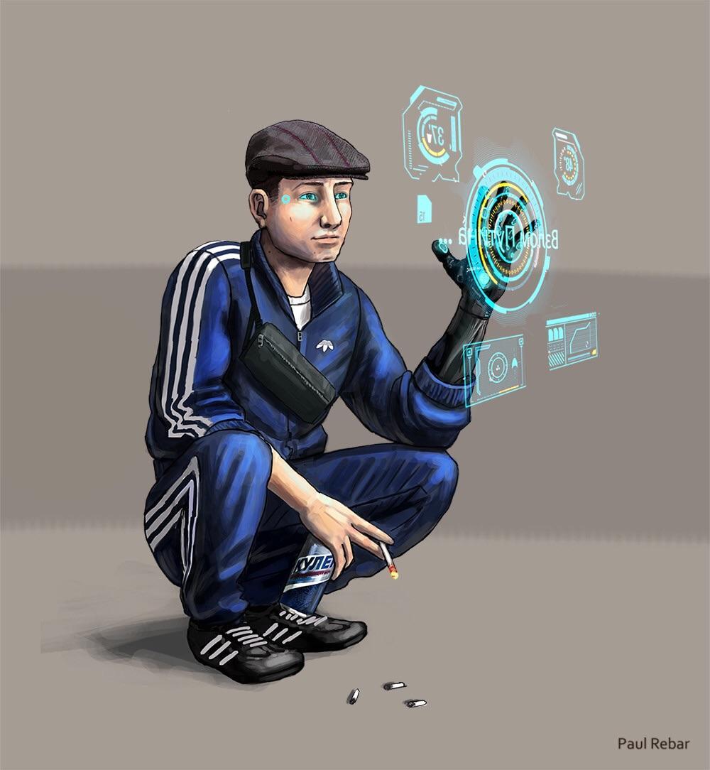 Cyberpunk 2077, игры, Slav Squat, гопник, картинки, прикольные картинки