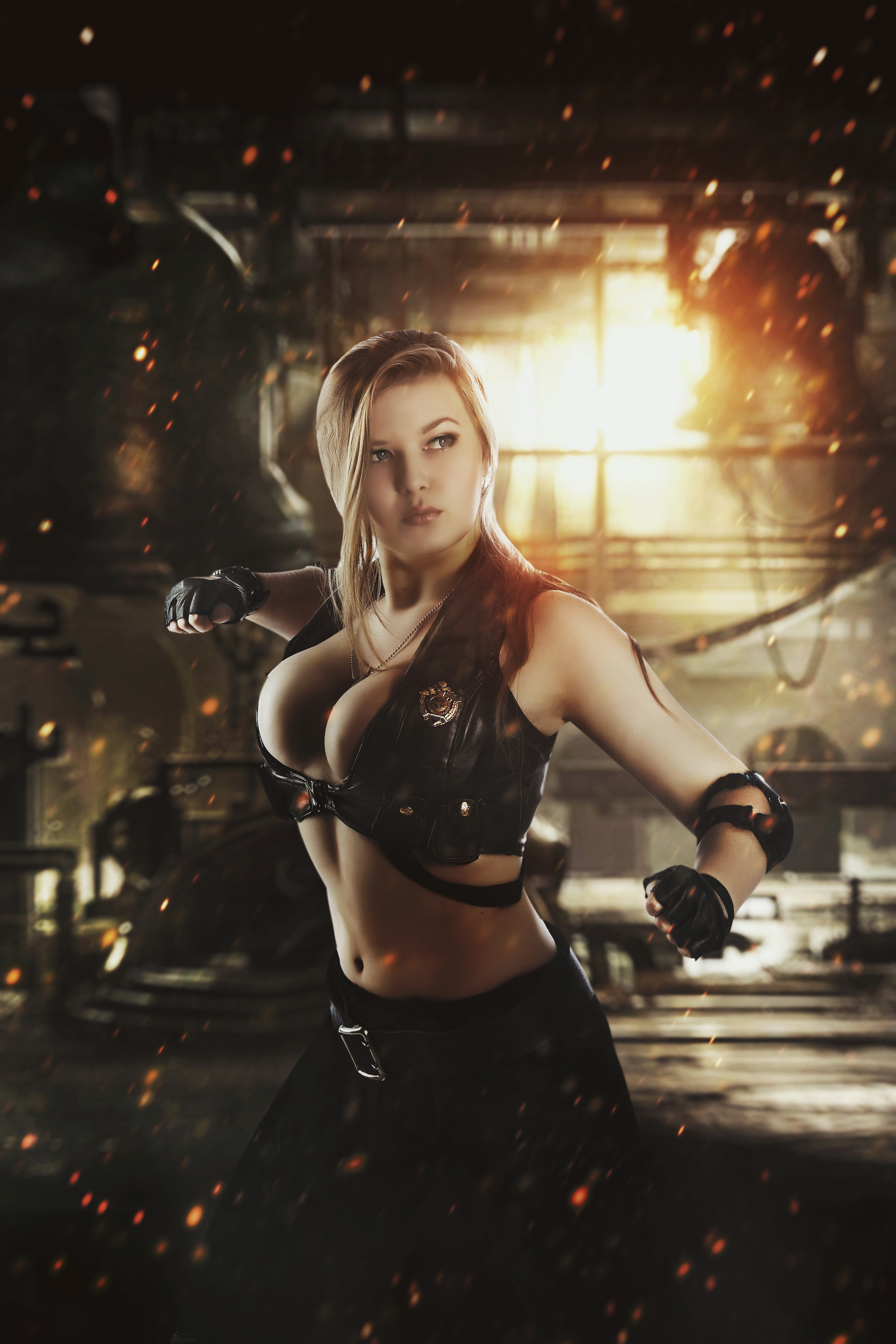 Mortal Kombat 9, Sonya Blade, Sonya (Mortal Kombat), Mortal Kombat, игры, косплей, cosplay, Oksana Orlova, Оксана Орлова