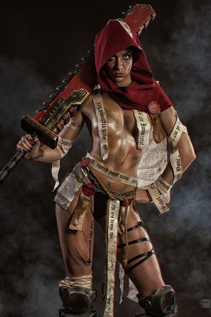 Warhammer 40k, Warhammer 40000, фото, косплей, сестры битвы, cosplay