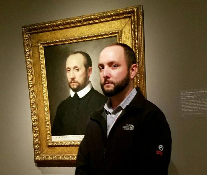 Люди, которые случайно нашли своих двойников в музеях, фото, разное, картины, двойники, живопись, музеи