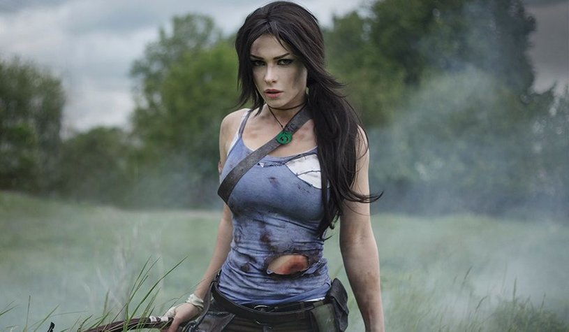 Лара Крофт, Lara Croft, Tomb Raider, Мария «GREED» Ильина, cosplay, косплей, фото, девушка, девушки