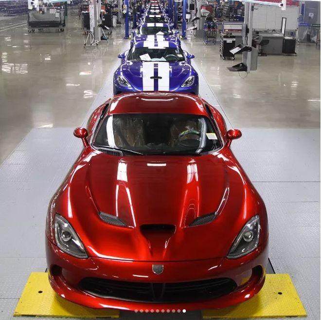 авто, Dodge Viper, последний