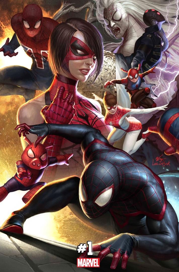 Spidergeddon, Spider-man, Человек-паук, комиксы, обложка