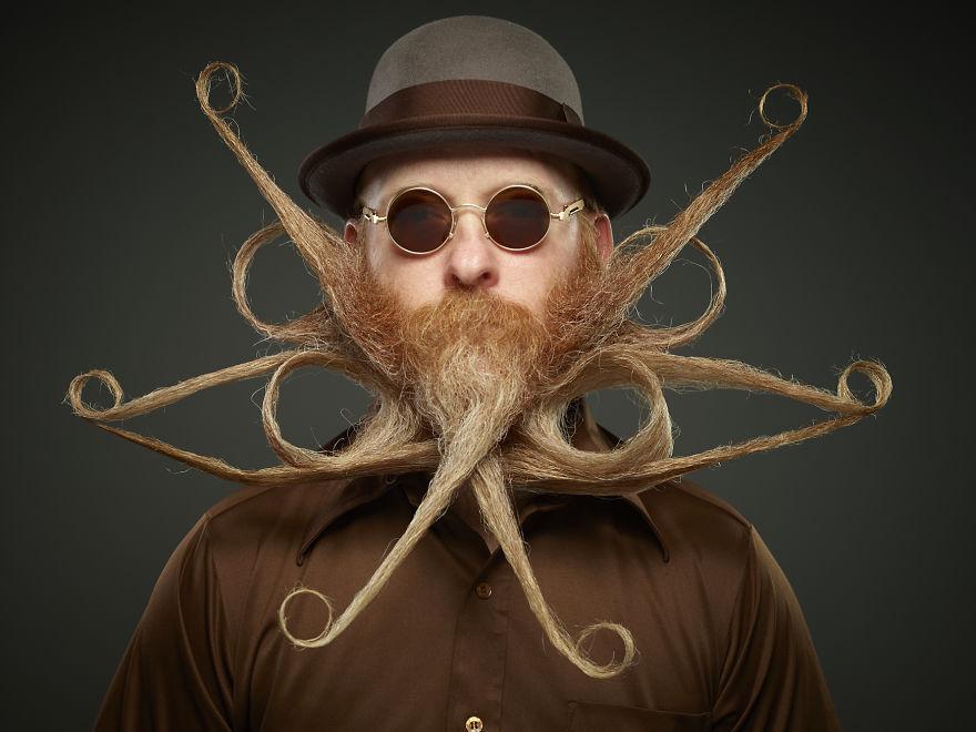 Лучшие бороды с чемпионата мира по бородам и усам 2017, фото, бороды, усы, чемпионата мира по бородам и усам, Грег Андерсон, Greg Anderson, разное