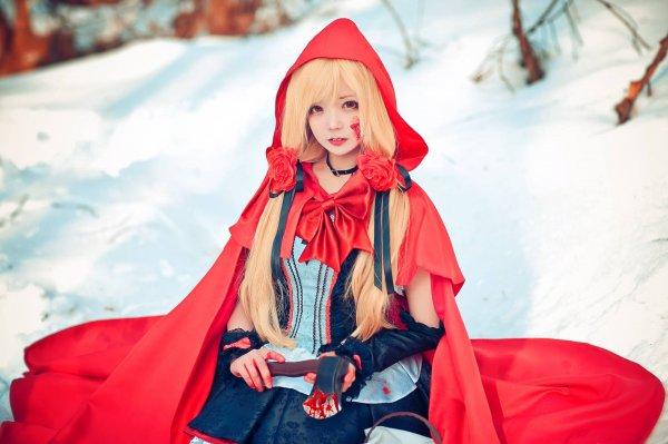 Красная Шапочка, Red riding hood, little red riding hood, фото, косплей, cosplay