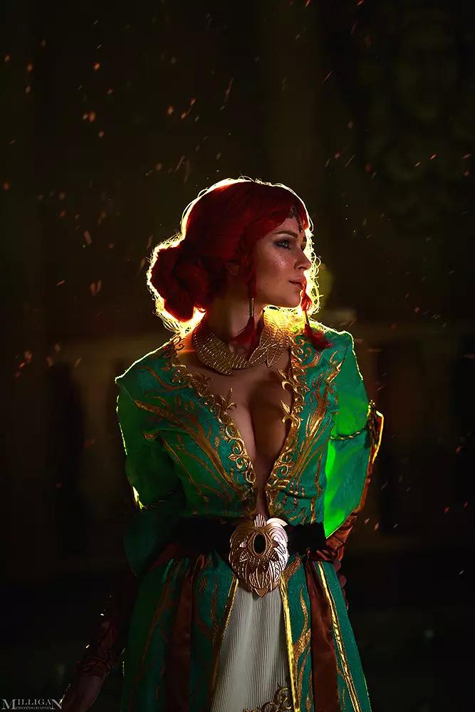 The Witcher, cosplay, косплей, Трисс Меригольд