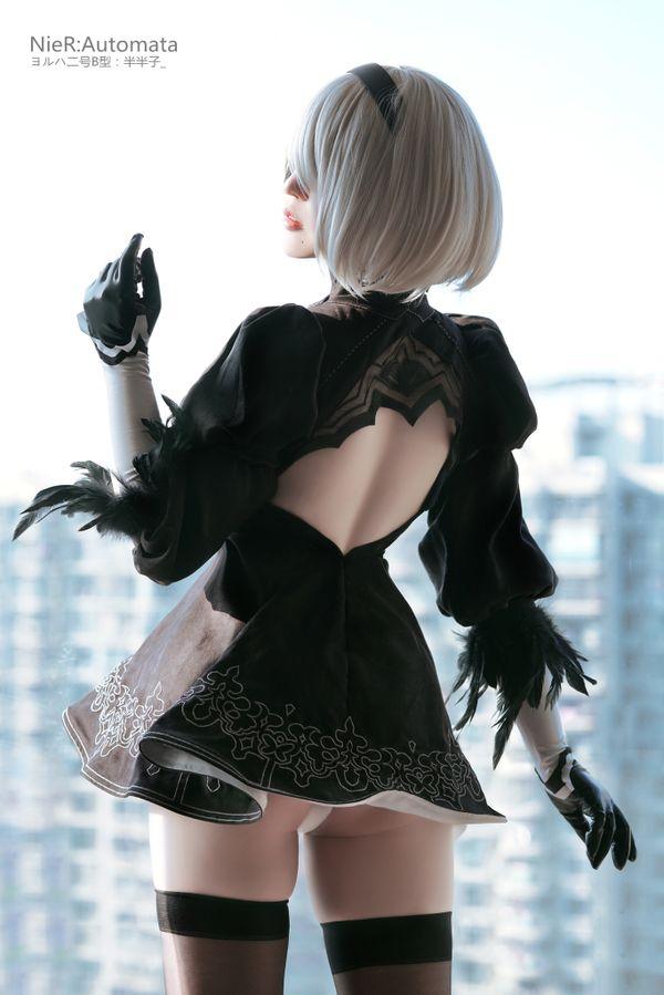 Nier: Automata, косплей, cosplay, 半半子