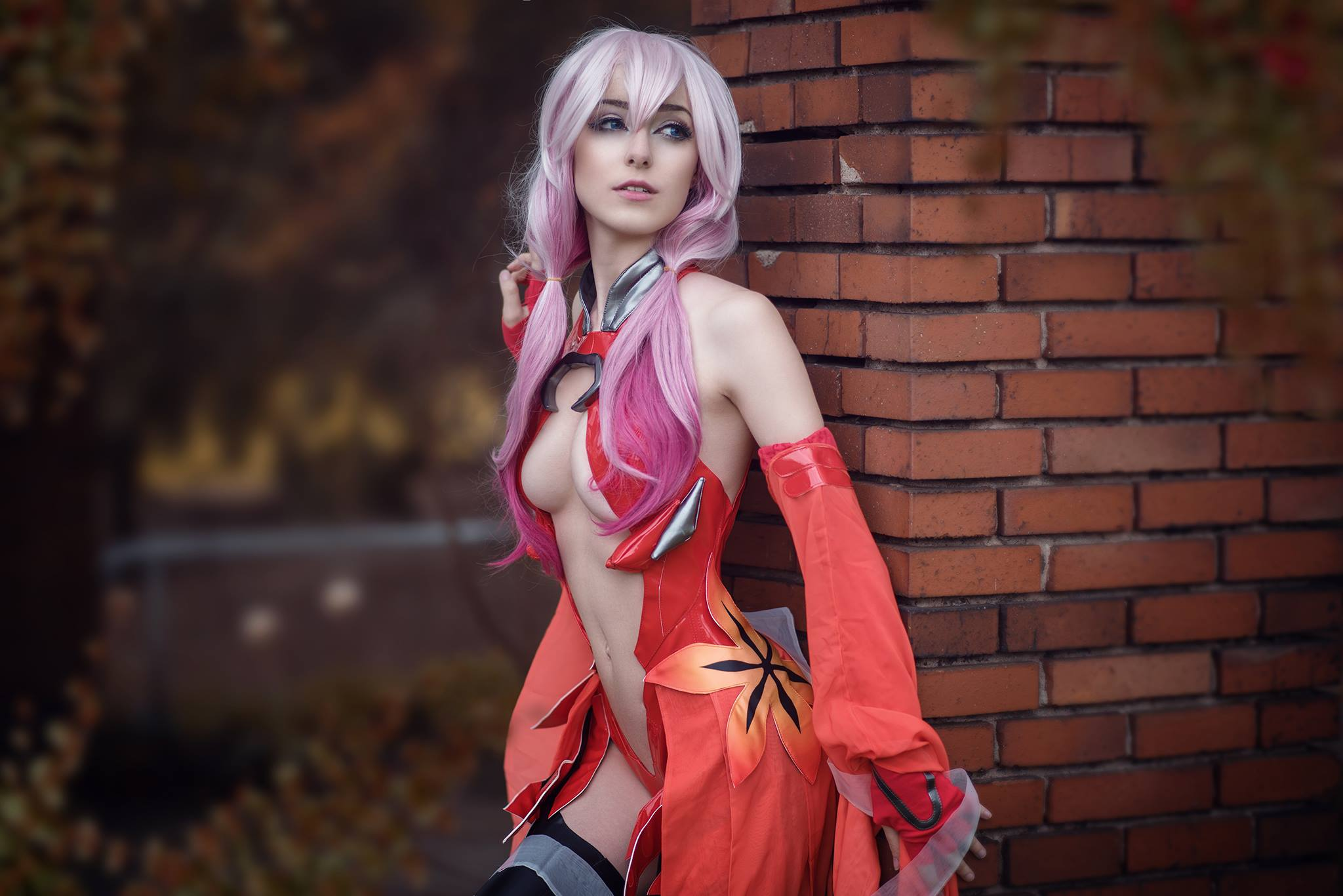 Anissa, cosplay, косплей, Inori Yuzuriha, Guilty Crown, девушка