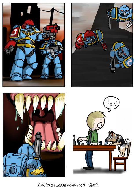 Warhammer 40k, картинки, комиксы