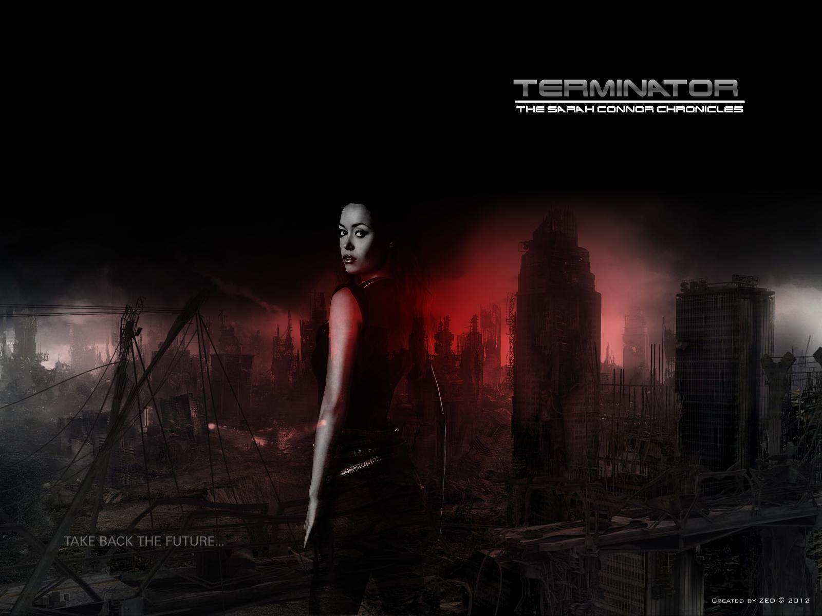 """Небольшая подборка моих работ на тему """"Terminator: The Sarah Connor Chronicles"""", картинки, фанарт, Summer Glau, Terminator SCC"""