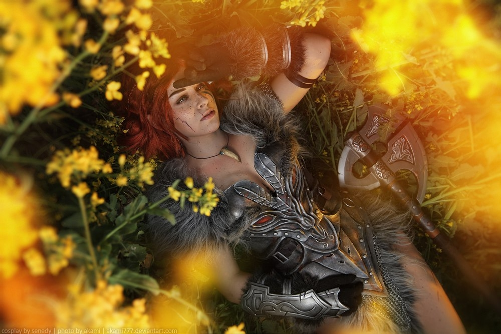 The Elder Scrolls 5: Skyrim, The Elder Scrolls, Александра Костюкевич, косплей, cosplay, фото, девушка