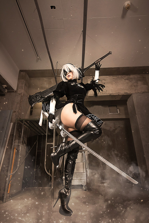 Nier Automata, Nier: Automata, фото, косплей, cosplay, девушка, Kasane