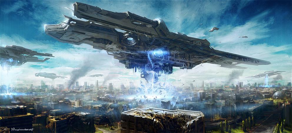 sci-fi, art, арт, красивые картинки