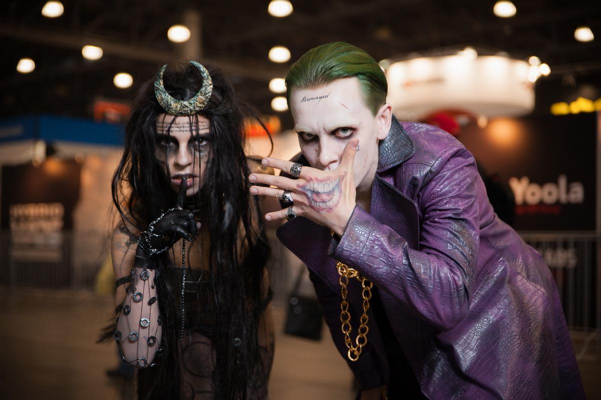 Джокер, Чародейка, Отряд самоубийц, Suicide Squad, косплей, cosplay