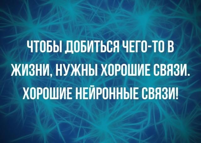 нейронные связи, юмор