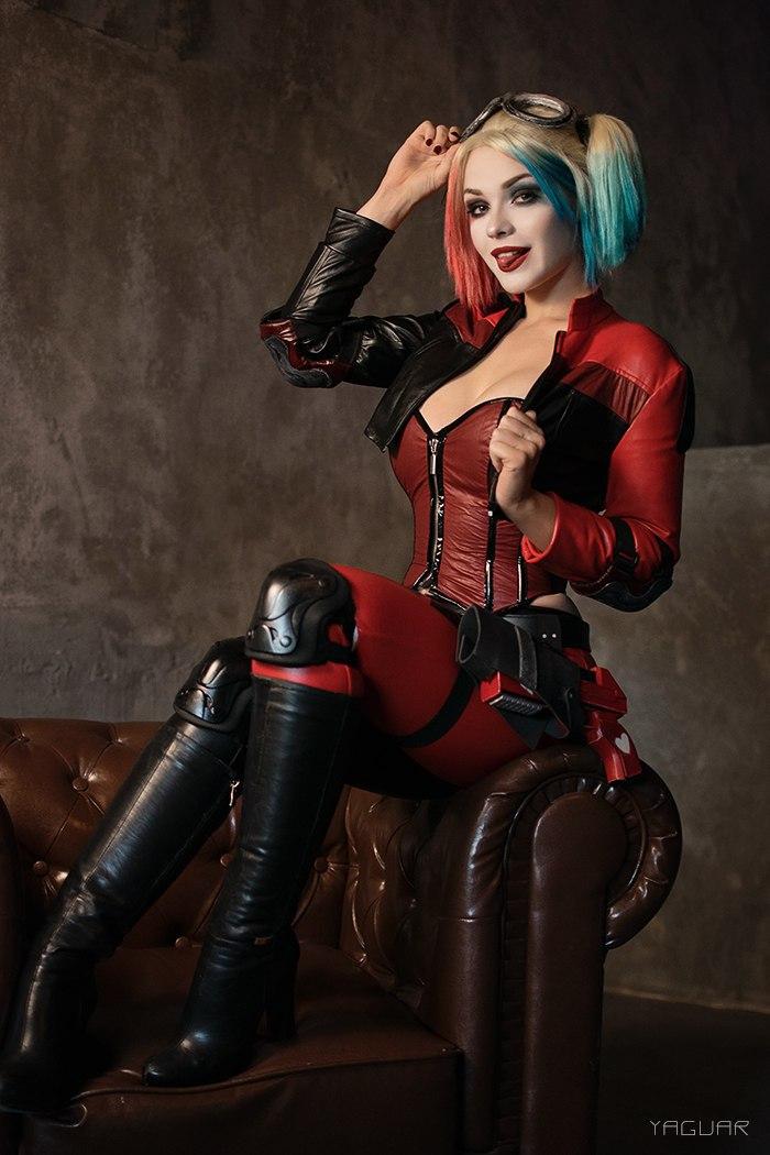 Харли Квинн, косплей, cosplay, Injustice 2, Irina Meier