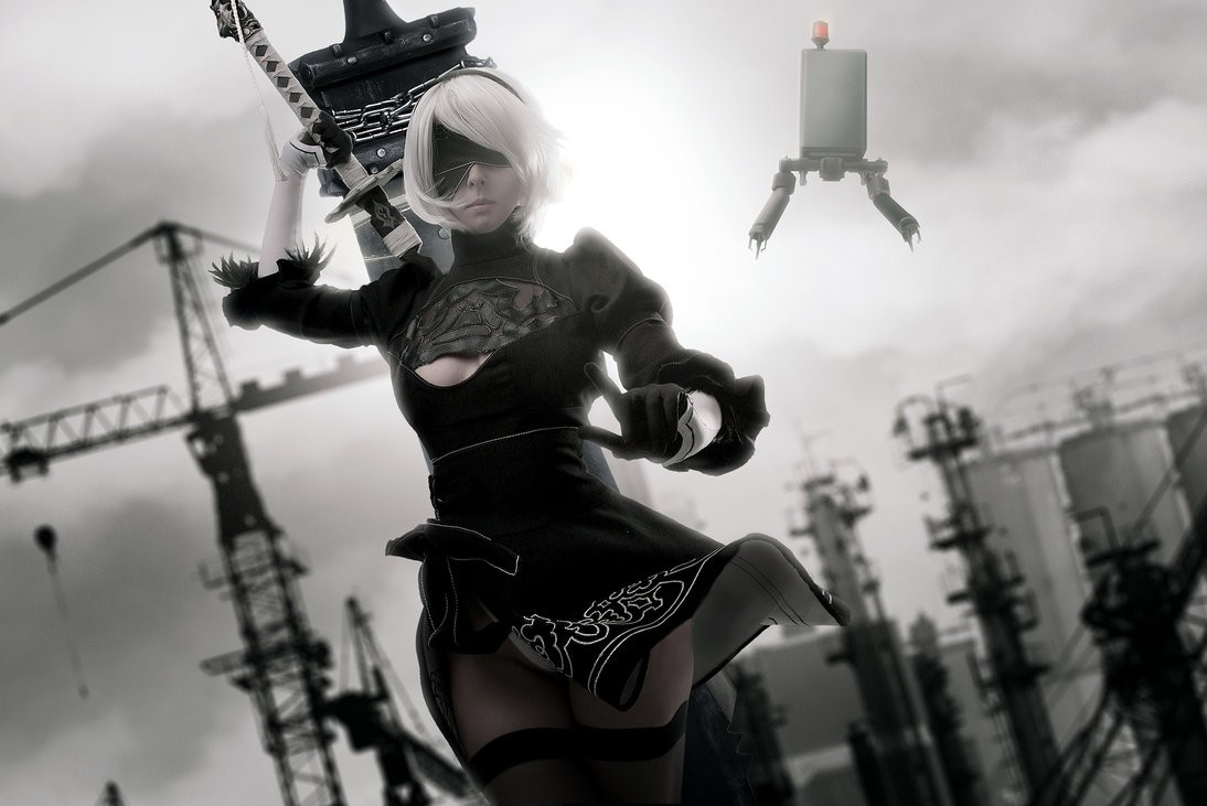 2B, Nier: Automata, cosplay, косплей