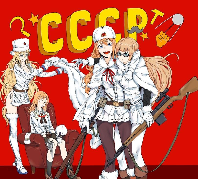 Girls Frontline, картинки, anime