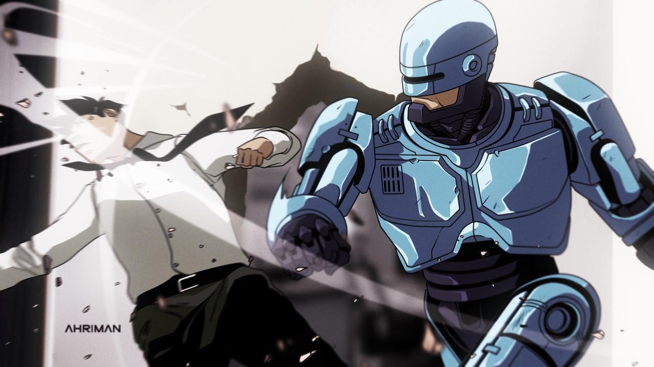 Ahriman, Robocop, Робокоп, фильмы, арт, art, картинки