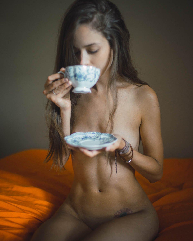 эротика, фото, красивая девушка, Cait del Mar