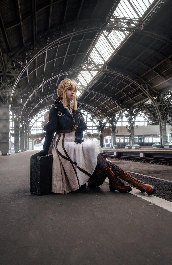 Violet Evergarden, косплей, cosplay
