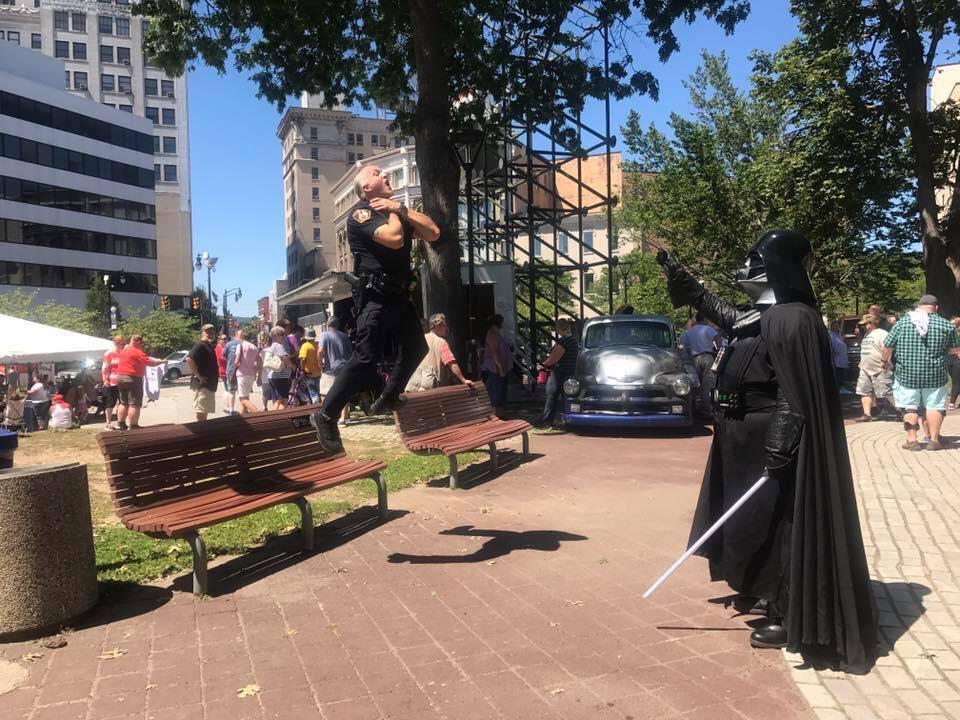 фото, юмор, Darth Vader, полиция