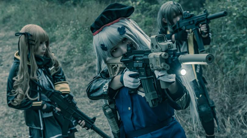 Girls Frontline, cosplay, косплей, anime, anime cosplay