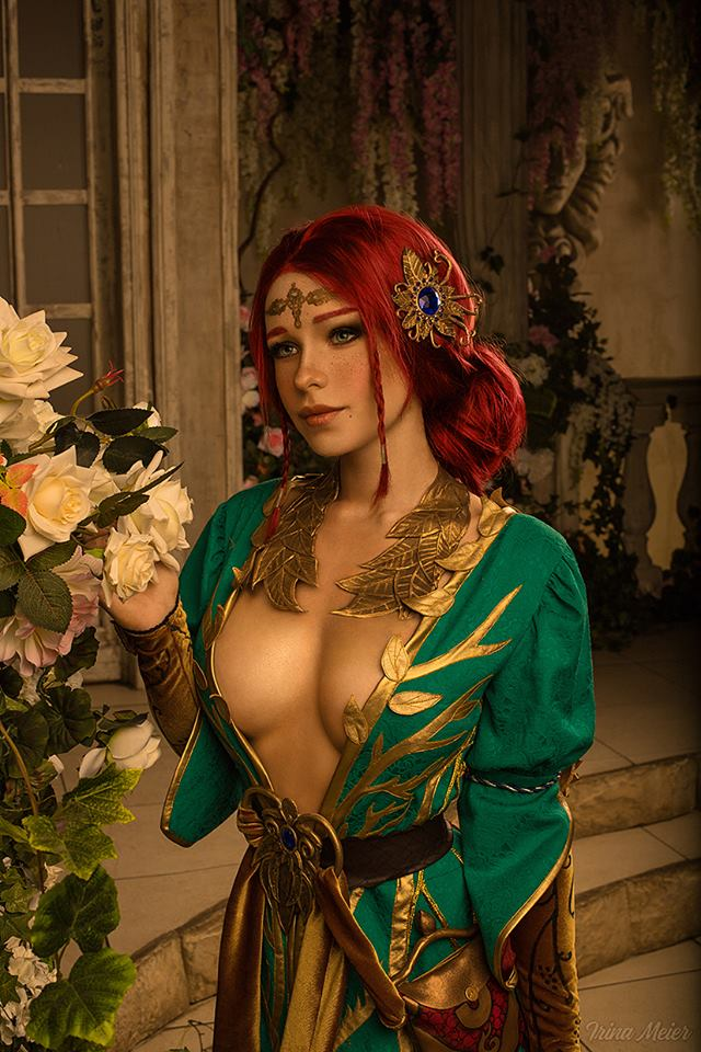 The Witcher, The Witcher 3, Triss Merigold, Irina Meier, cosplay, косплей