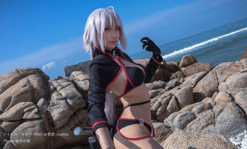 Jeanne Alter, Fate, cosplay, косплей