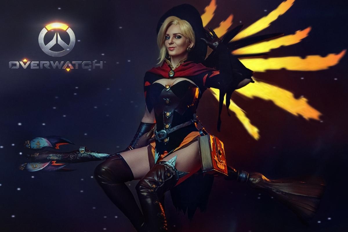 Overwatch, Ангел, Ангела Циглер, Алена Сысуева, косплей, cosplay, фото
