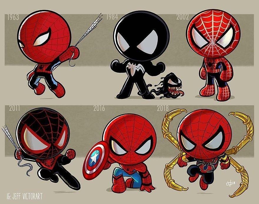 Jeff Victor, art, арт, Человек-паук, Spider-Man