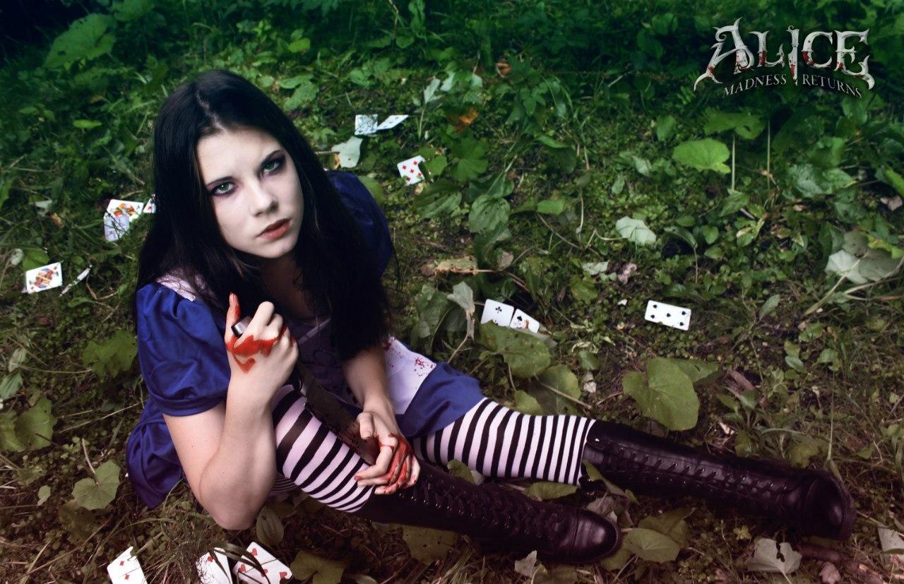Alice:Madness Returns, косплей, cosplay, Anastasya Zelenova, Анастасия Зеленова, игры