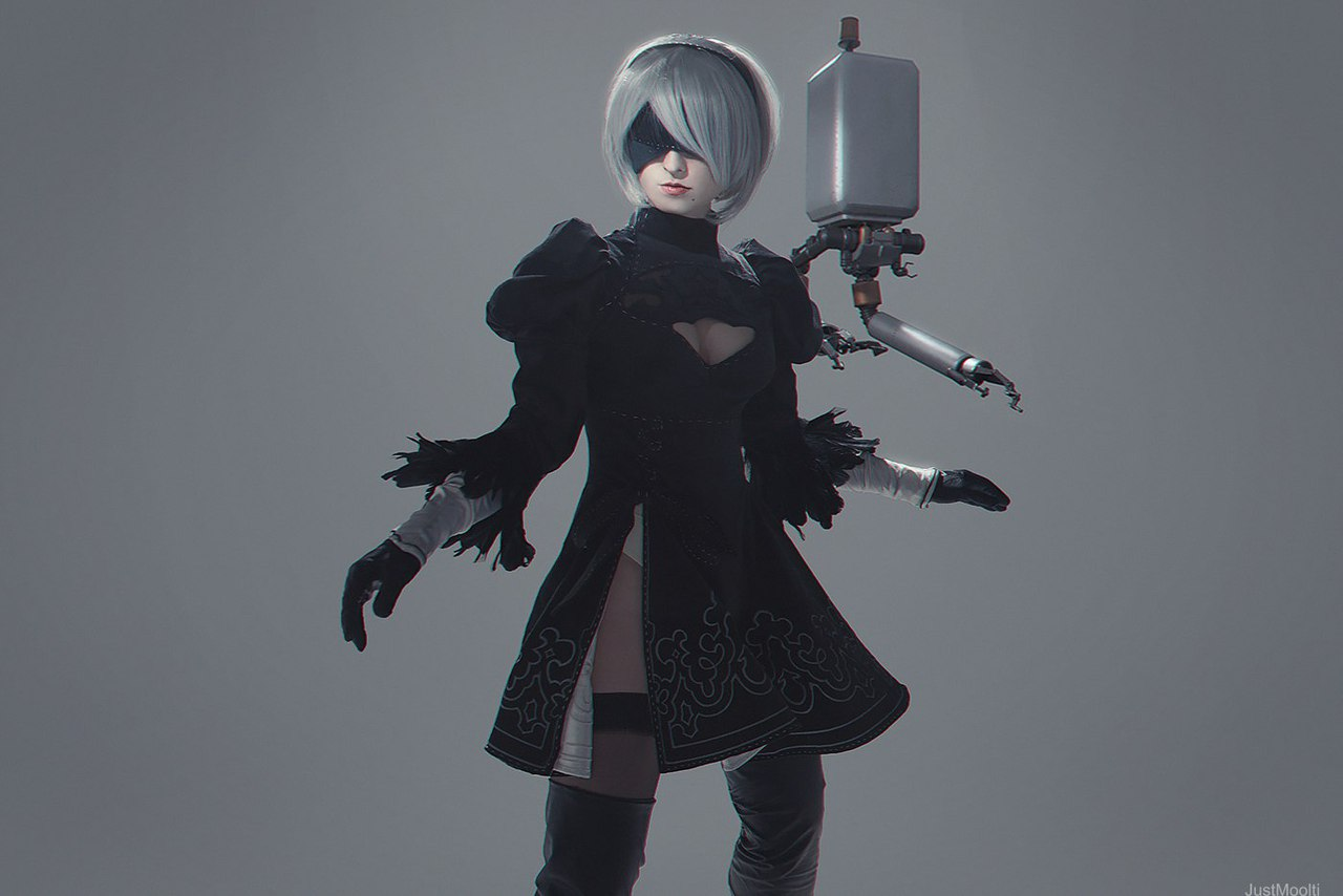Nier: Automata, Мария Авдонюшкина, косплей, cosplay
