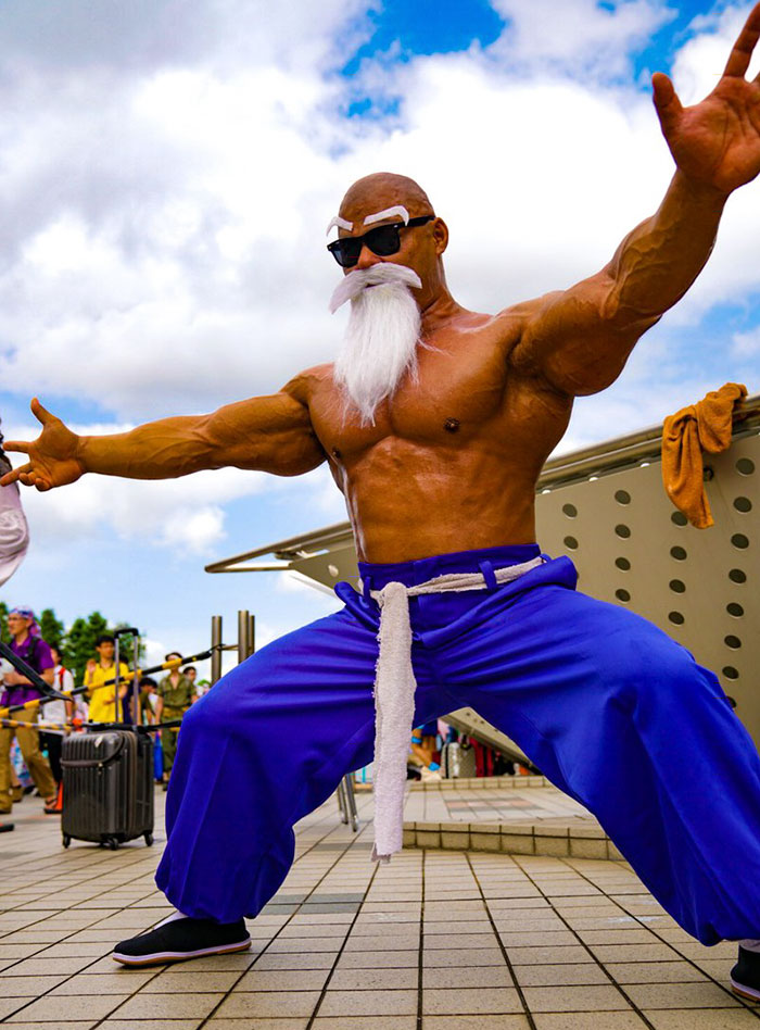 Master Of Dragon Ball, Cosplay, косплей, Taichi Shimizu, Master Roshi