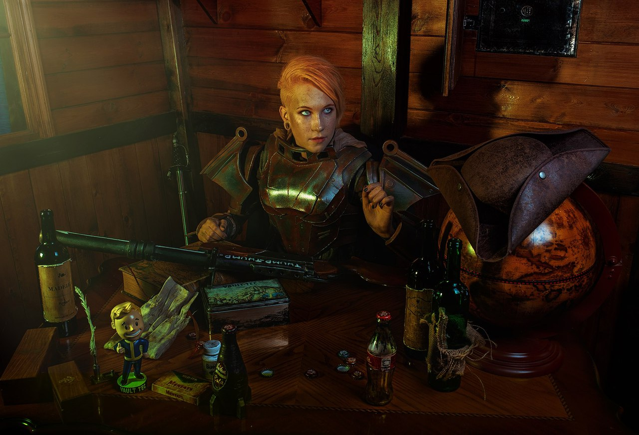 Fallout, косплей, cosplay, Haku Mikiriyami, Гоша Волкушина, 412ART