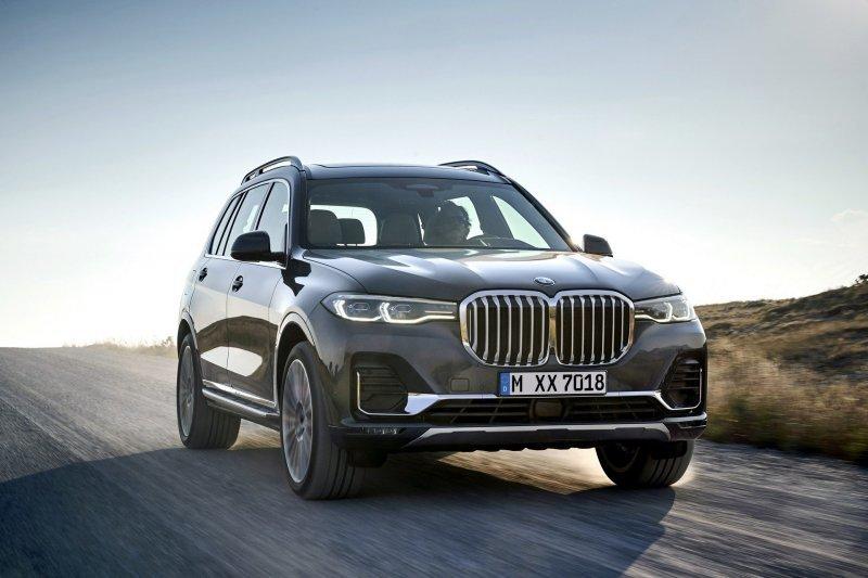 авто, BMW, BMW X7, кроссовер