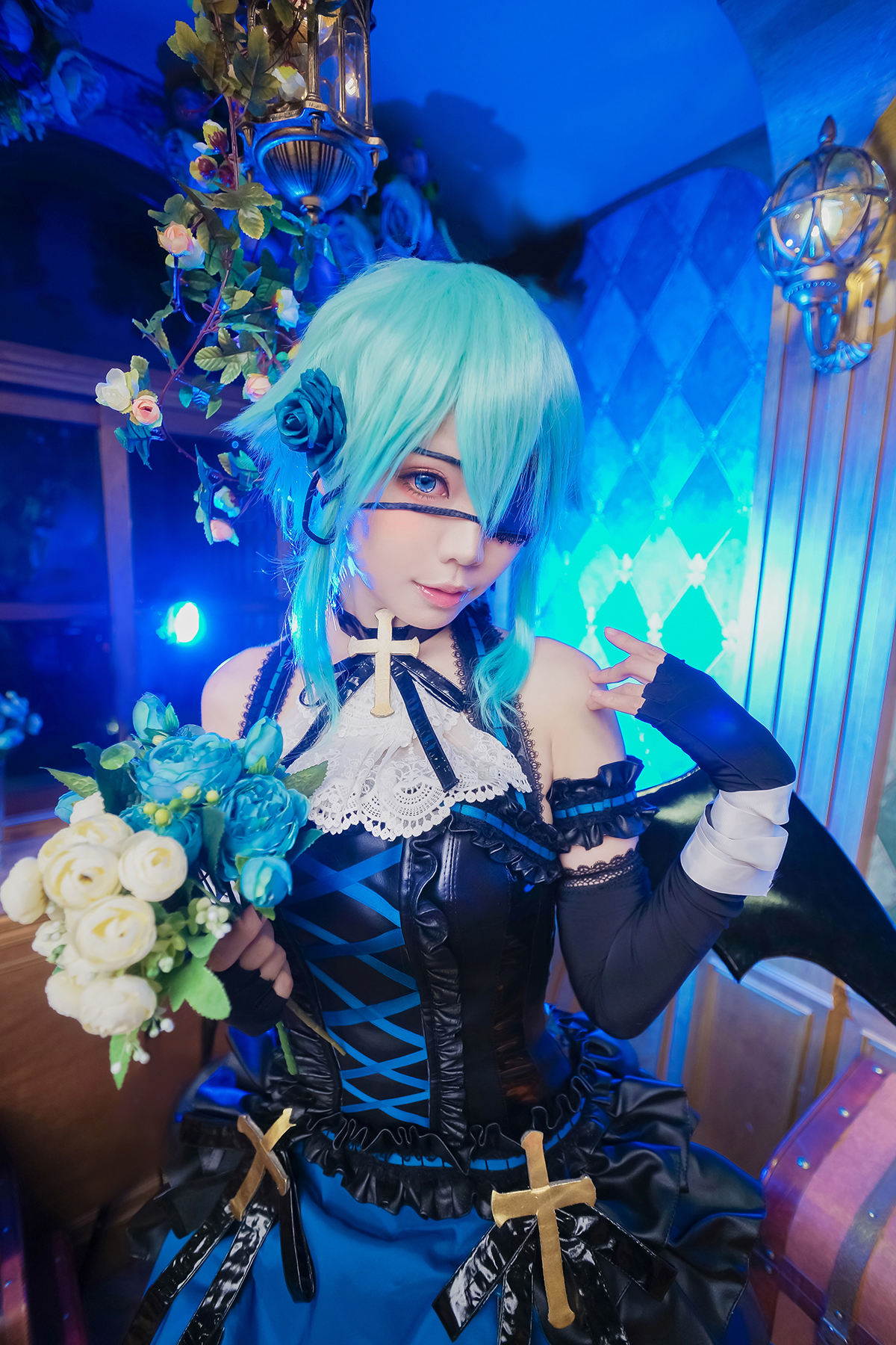 Sword Art Online, фото, косплей, cosplay, Синон, Sinon, SAO, GGO, Halloween, Ely