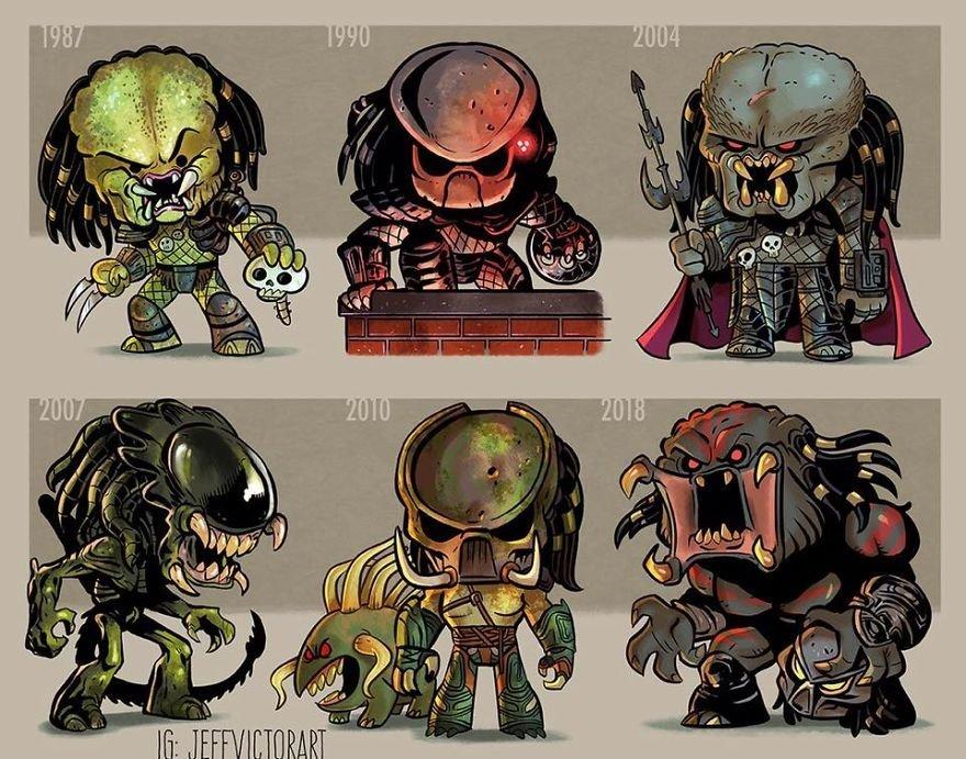 Jeff Victor, art, арт, Хищник, Predator