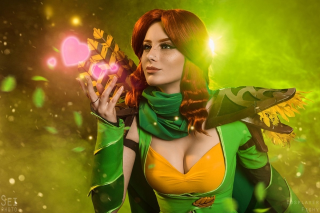 Windranger, Dota 2, cosplay, косплей, игры